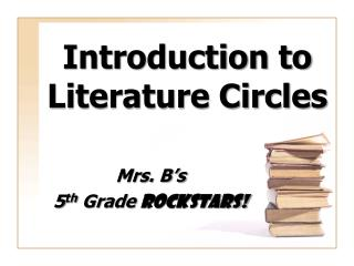 Introduction to Literature Circles