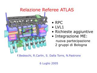 Relazione Referee ATLAS
