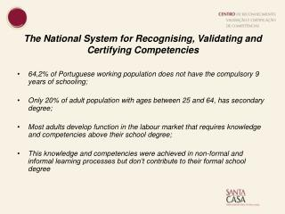 The National System for Recognising, Validating and Certifying Competencies