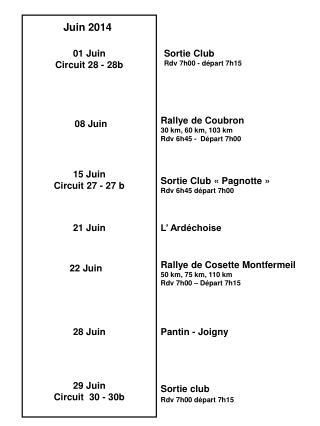01 Juin Circuit 28 - 28b