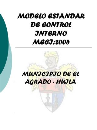 MODELO ESTANDAR DE CONTROL INTERNO MECI:2005