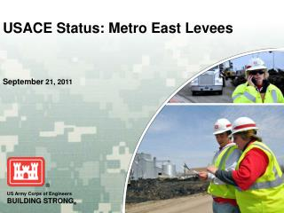 USACE Status: Metro East Levees