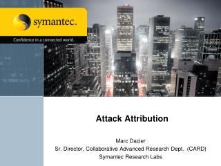 Attack Attribution