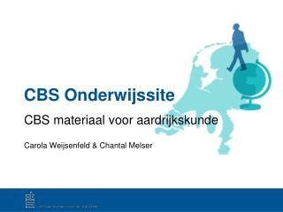 CBS Onderwijssite