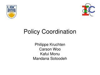 Policy Coordination