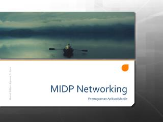 MIDP Networking