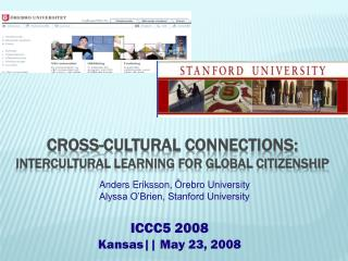 Cross-cultural connections:  intercultural learning for Global citizenship