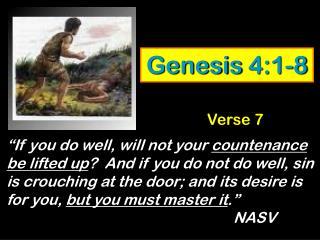 Genesis 4:1-8