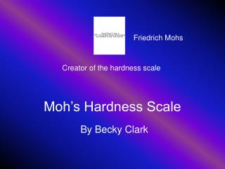Moh�s Hardness Scale
