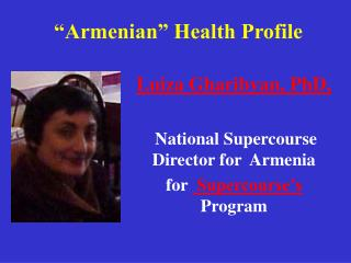 """Armenian"" Health Profile"