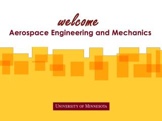 Aerospace Engineering and Mechanics