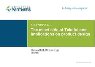 The asset side of Takaful and implications on product design