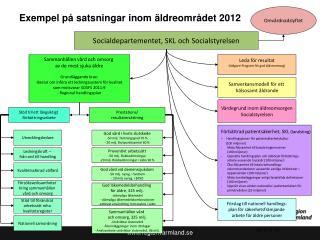 Exempel på satsningar inom äldreområdet 2012