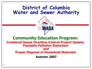 District of Columbia Water and Sewer Authority
