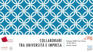 Collaborare tra università e impresa