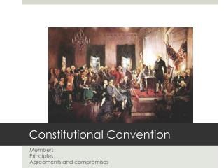 Constitutional Convention