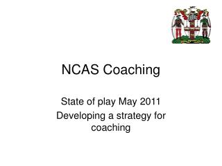 NCAS Coaching
