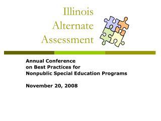 Illinois  Alternate  Assessment