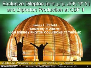 Exclusive Dilepton (e + e - , m + m - ,J/ Y ,  Y ',  ) and Diphoton Production at CDF II