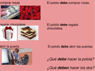 comprar rosas regalar chocolates abrir la puerta