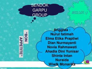 Anggota  : Nurul fatimah Elma  Etika Praptiwi Dian  Nurmayanti Novia Rahmawati Ahadia Dini Yunisar