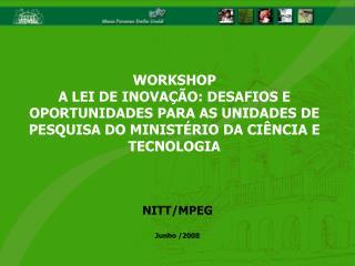 NITT/MPEG Junho /2008
