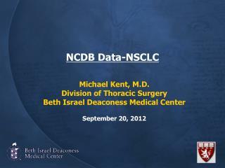 NCDB Data-NSCLC