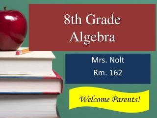 8th Grade Algebra