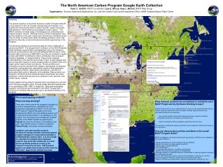 The North American Carbon Program Google Earth Collection