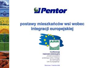 postawy mieszkańców wsi wobec integracji europejskiej