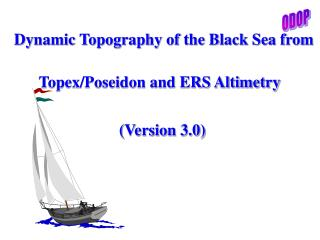 Dynamic Topography of the Black Sea from