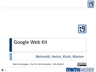 Google Web Kit