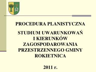 Uchwała Nr VII/47/2007 Rady Gminy Rokietnica z dnia 20 marca 2007r.