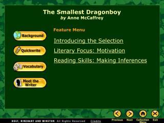 The Smallest Dragonboy by  Anne McCaffrey