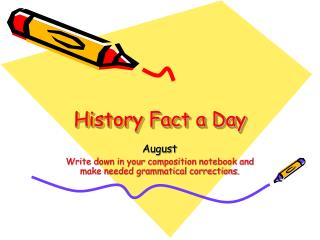 History Fact a Day