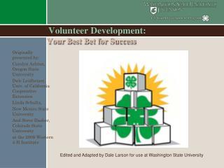Volunteer Development: Your Best Bet for Success