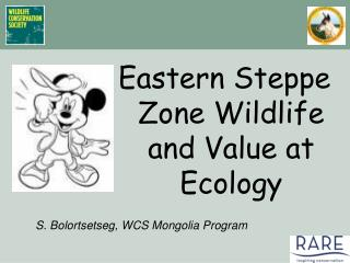 Eastern Steppe Zone Wildlife and Value at Ecology