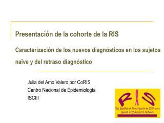 Julia del Amo Valero por CoRIS Centro Nacional de Epidemiología ISCIII