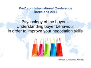 ProZ International Conference Barcelona 2012