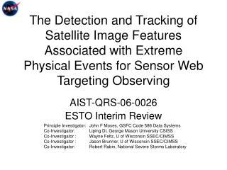 AIST-QRS-06-0026 ESTO Interim Review