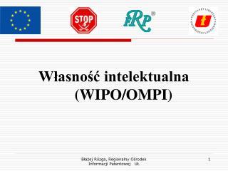 Własność intelektualna    (WIPO/OMPI)