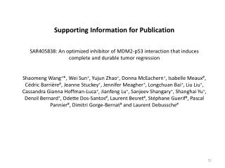 Supporting Information  for  Publication