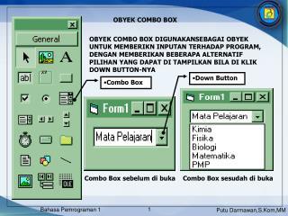 OBYEK COMBO BOX