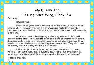 Cheung Suet Wing, Cindy, 6A