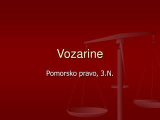 Vozarine
