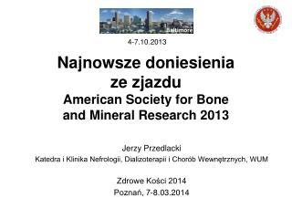 Jerzy Przedlacki Katedra i Klinika Nefrologii, Dializoterapii i Chorób Wewnętrznych, WUM