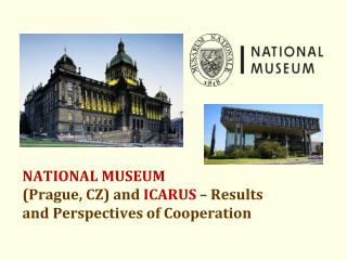 NATIONAL MUSEUM (Prague, CZ) and  ICARUS  – Results and Perspectives of Cooperation