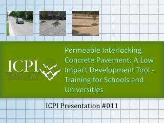 ICPI Presentation #011