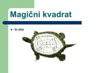 Magični kvadrat