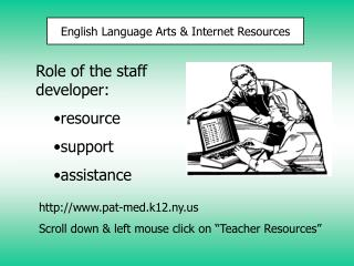 English Language Arts & Internet Resources